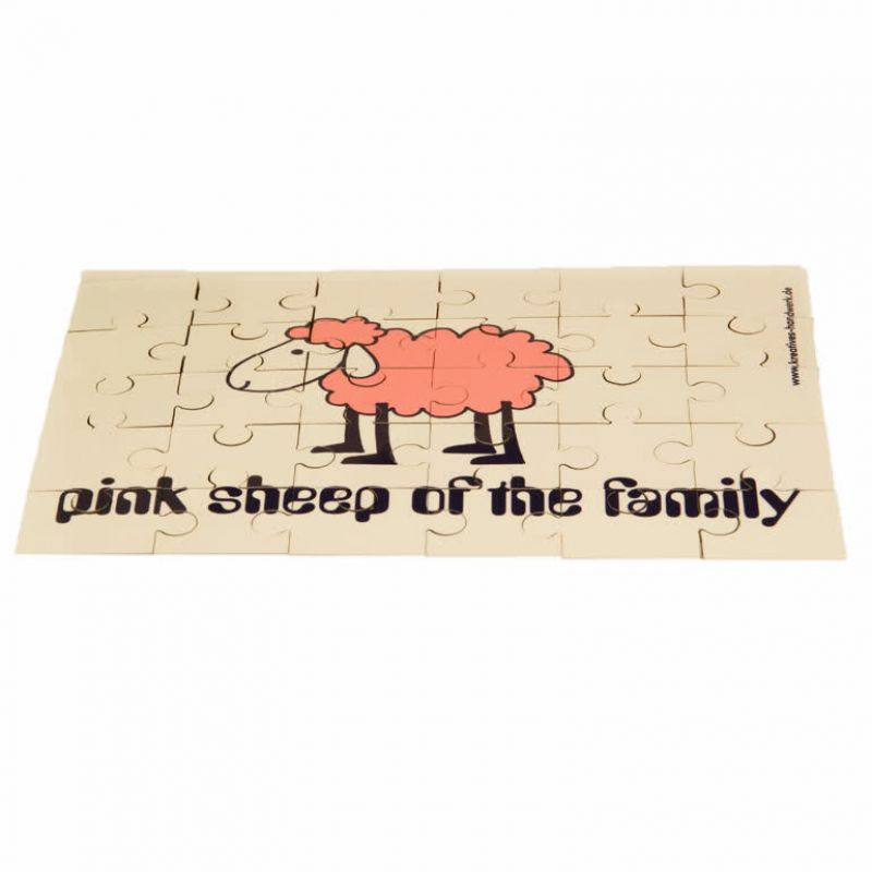 Puzzle Pink Sheep - 30 Teile