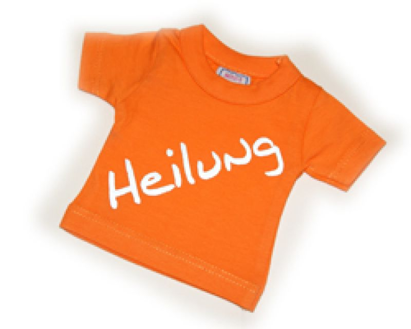 MiniShirt Heilung - orange