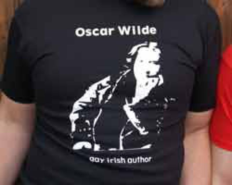 Oscar Wilde - Shirt schwarz - Part of culture