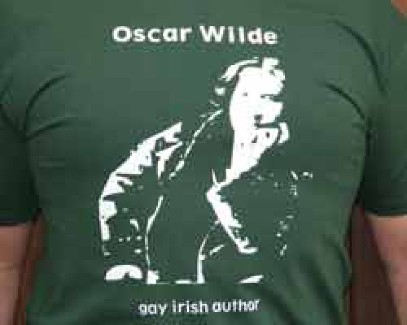 Oscar Wilde - Shirt grün - Part of culture