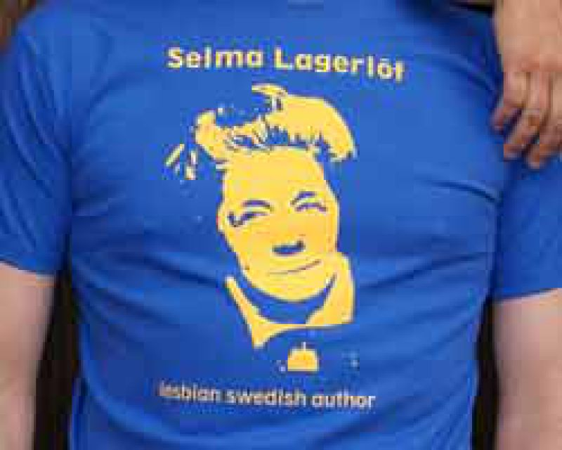 Selma Lägerlöf - Shirt royalblau - Part of culture