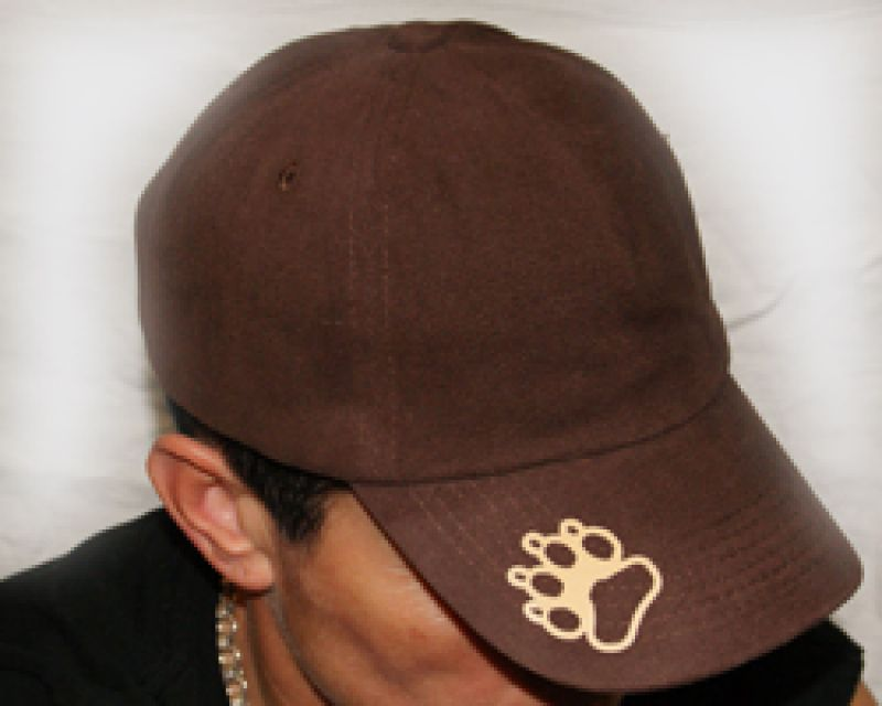 Tatzen links dunkelbraune Panel-Cap