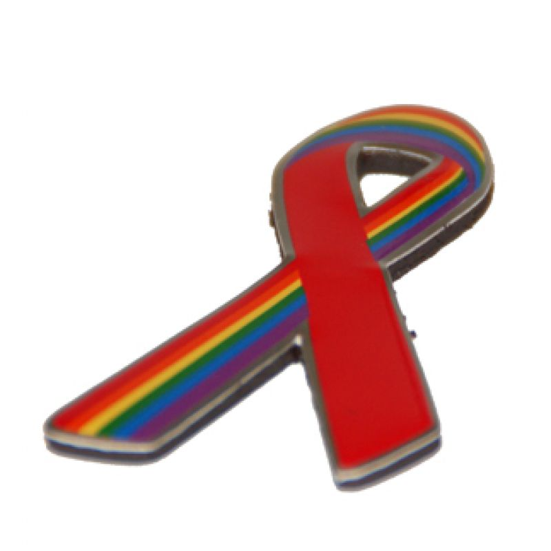 Rainbow-&Red Ribbon