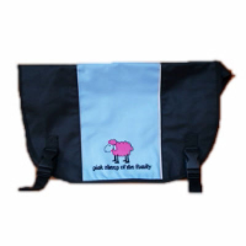 Nylontasche blau Pink Sheep