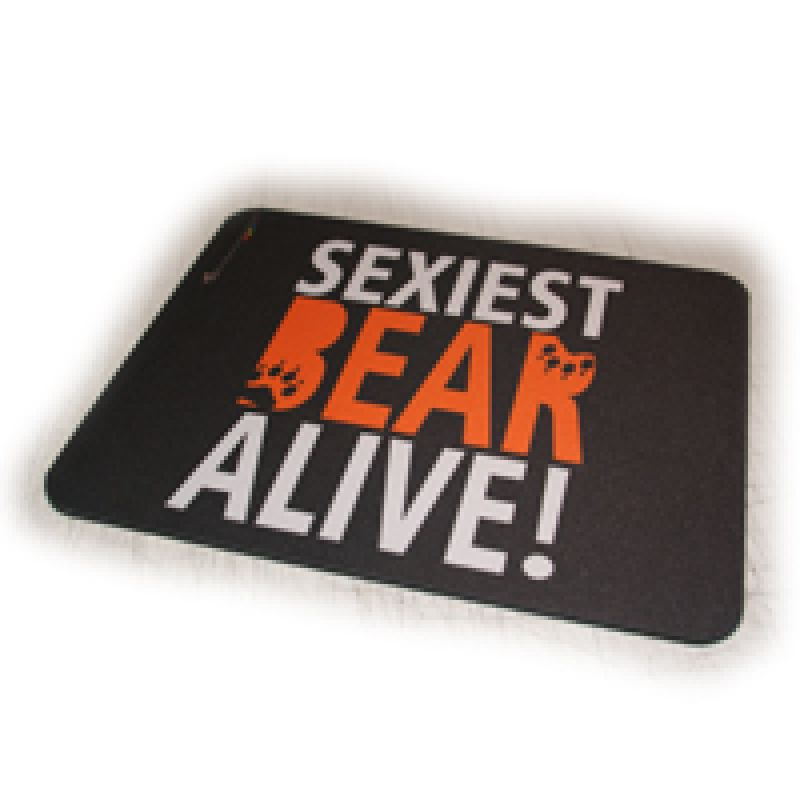 Mousepad Sexiest Bear Alive