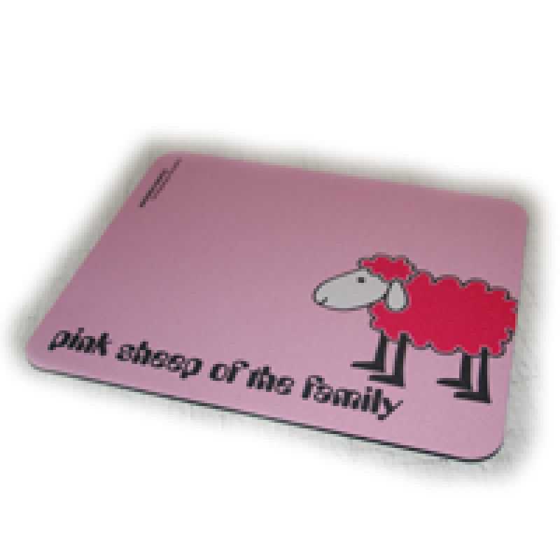 Mousepad Pink Sheep
