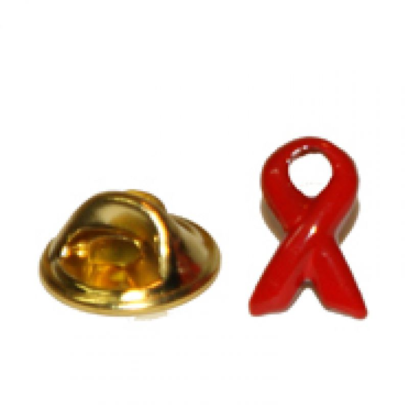 AIDS-Ribbon klein